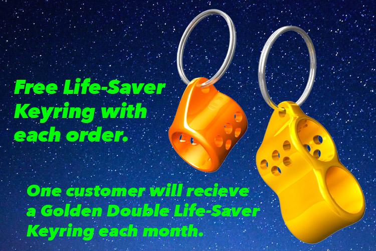 Jase3d Free Life Saver Keyring